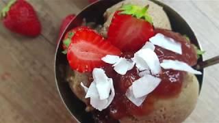 Vitalia healthy food - Протеински сладолед со јагода (diet, high protein)