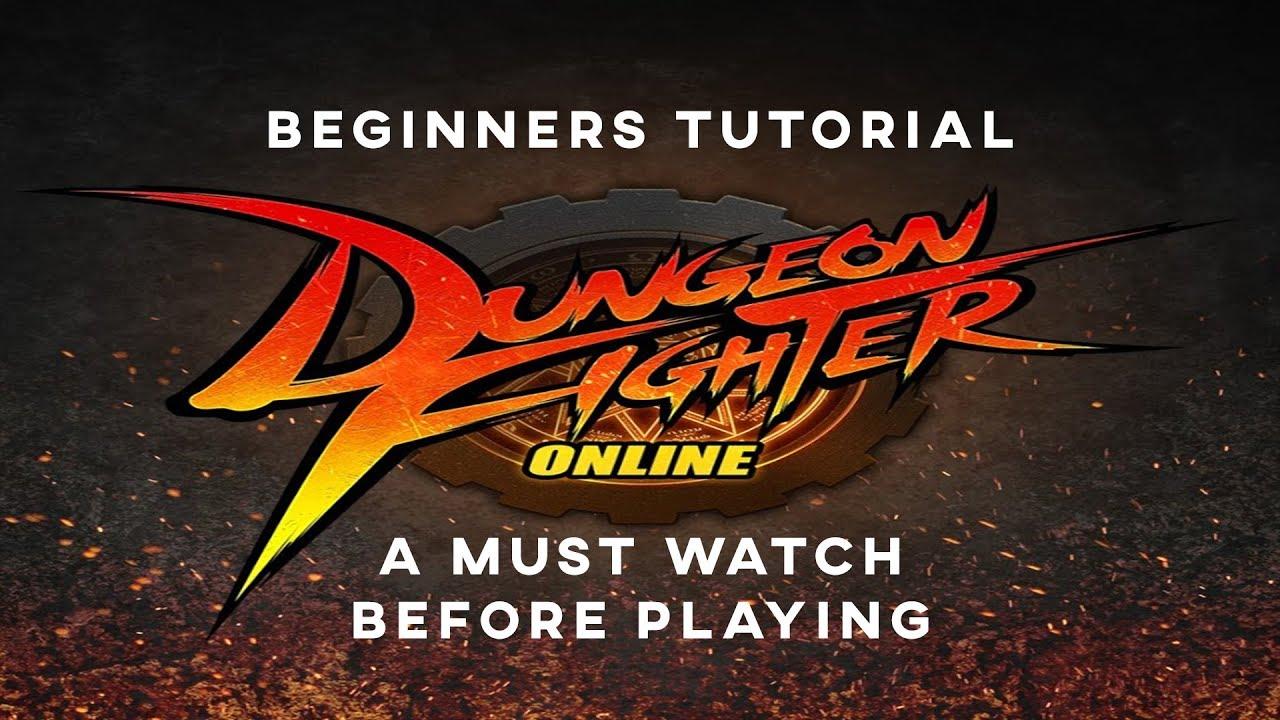 dungeon fighter online dfo beginners tutorial 2018 youtube