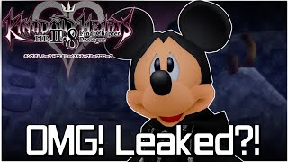 """Another Year, Another Kingdom Hearts Pre-E3  """"Leak"""""""
