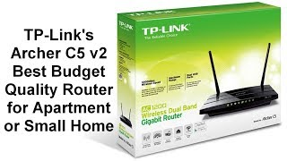 TP-Link Archer C5 AC1200 Wireless Dual-Band Gigabit Router, v2