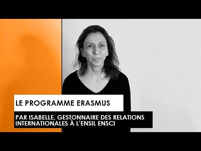 [TEMOIGNAGE] : Isabelle nous parle du programme ERASMUS