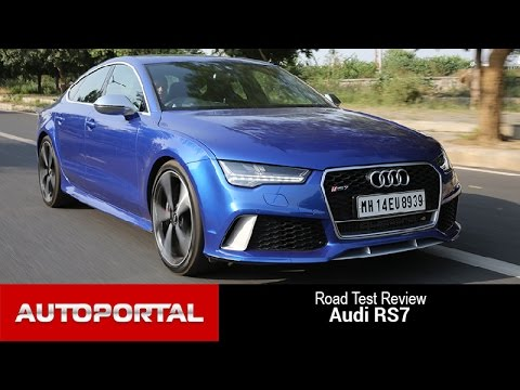 Audi RS7 Test Drive Review - Auto Portal