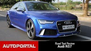 Audi RS7 Test Drive Review - Auto Portal
