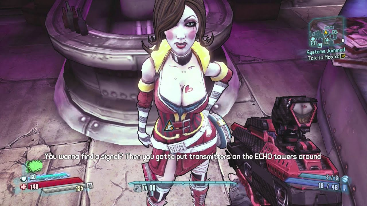 Borderlands Hentai Nudes - New Naked Girls-9437