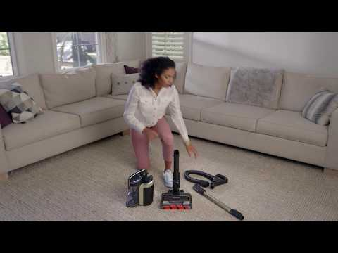 How to assemble the Shark ION™ P50 cordless upright vacuum