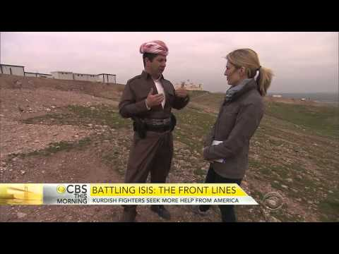 Kurdish National Security Adviser Masrour Barzani: Fighting ISIS  Out gunned Kurdish fighters
