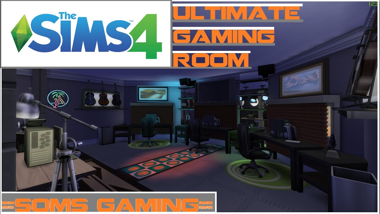 The Sims 4: Ultimate Gaming Room!