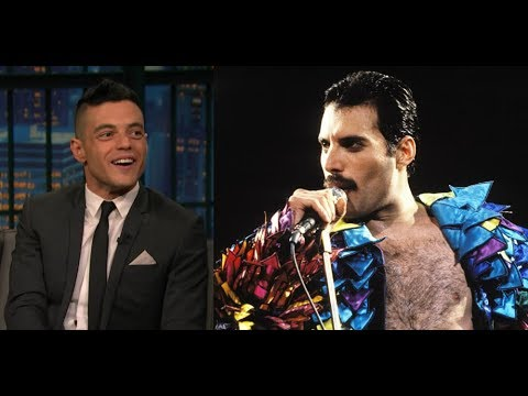 Rami Malek transforms into Freddie Mercury