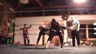 DESiples of Evil & Richie Mack vs Grimm, RIAS & Draven (11/19/2016) WAW 18th Anniversary Show part 4