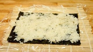 How To Make Sushi Rice - Sushi Roll Rice Base