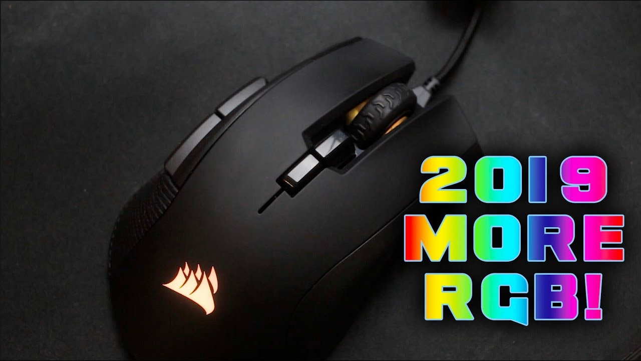 Corsair IronClaw RGB Mouse Review - £55 RGB GOODNESS!