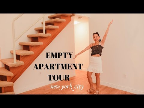 empty nyc loft apartment tour | my first home purchase!
