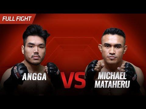 [HD] Angga VS Michael Mataheru    One Pride FN #31