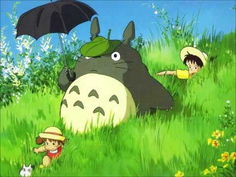 Path of the wind  Totoro OST Guitar version