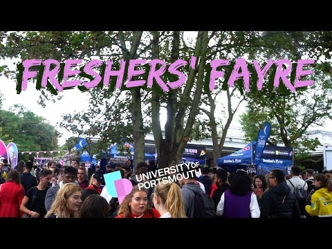 Freshers' Events | UNIVERSITY OF PORTSMOUTH