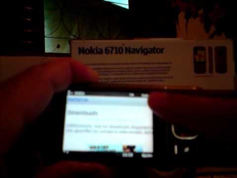 Nokia 6710 Navigator defeito na zoombar (zooming)