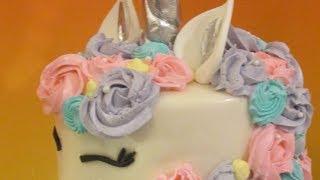 Blinged out Unicorn Cake