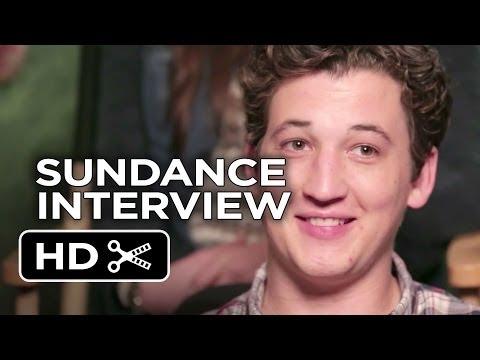 Sundance (2014) - Whiplash THR Interview - Miles Teller Movie HD