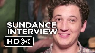 Sundance (2014) - Whiplash THR Interview - Miles Teller Movie HD