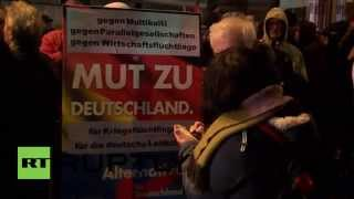 Germany: 'Stop Islamisation' Hundreds join Berlin PEGIDA demo