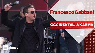 FRANCESCO GABBANI dal vivo a Radio2 Social Club Sanremo 2020 - OCCIDENTALI'S KARMA
