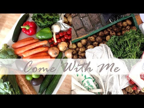 Come With Me When I Shop Zero Waste // Farmer's Market Vlog