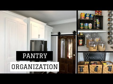 Pantry Organization Ideas  Farmhouse Pantry Tour