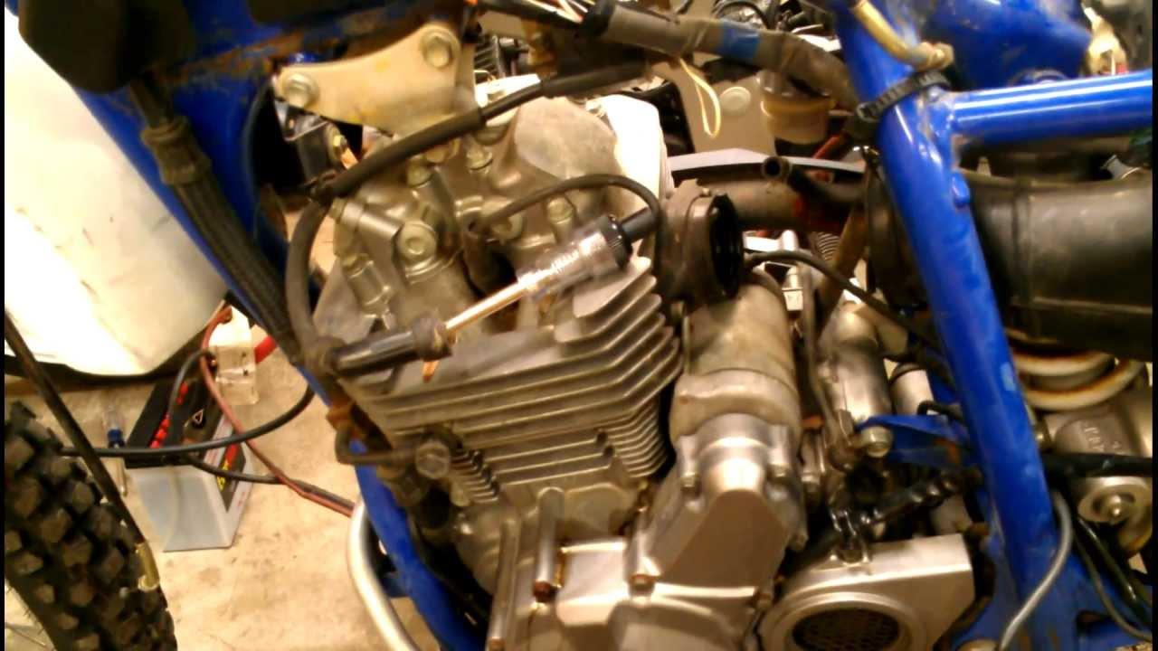 Suzuki DR250 Update  Wiring Harness Modified  YouTube