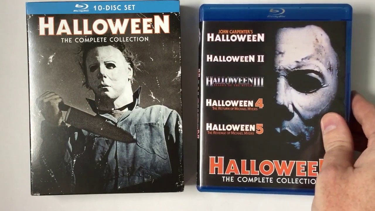 unboxing scream factory - halloween: the complete collection (10