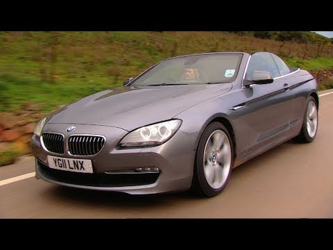 testing the bmw 6 series convertible fifth gear youtube. Black Bedroom Furniture Sets. Home Design Ideas