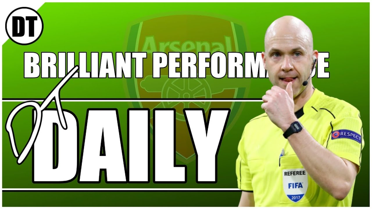 DT DAILY | ANTHONY TAYLOR ACTUALLY HAD A GOOD GAME IN THE CUP FINAL