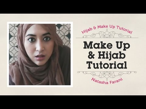 sharing makeup & tutorial jilbab  Natasha Farani