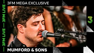 Mumford & Sons live met 'Guiding Light', 'Only Love', 'Woman' & meer | 3FM Live | NPO 3FM