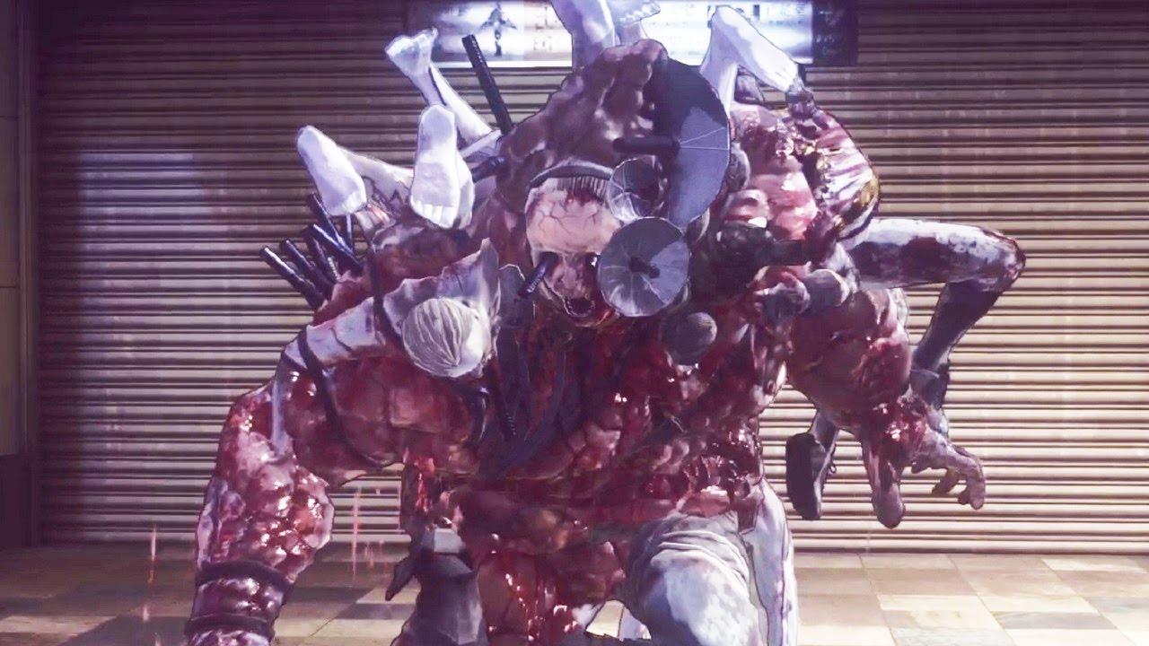 Let It Die Floor 3 Boss Fight Coen 1080p Youtube