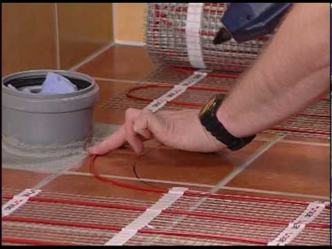 The step by step installation guide to the devi underfloor heating the step by step installation guide to the devi underfloor heating solutions youtube solutioingenieria Choice Image