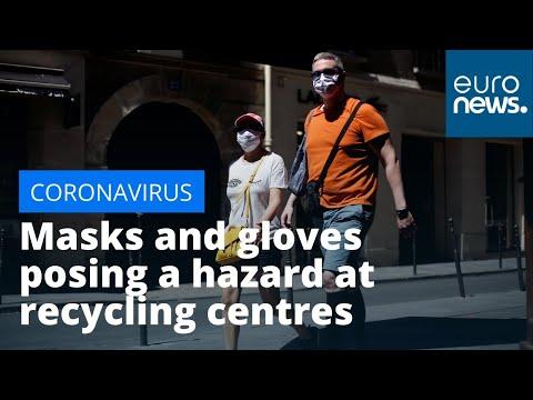 Coronavirus masks and gloves posing a hazard at recycling centres
