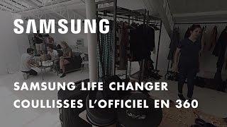 Samsung et L'Officiel présentent les coulisses des 95 ans de L'Officiel en 360°