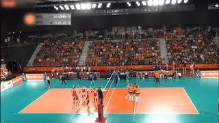 JAPAN - NETHERLANDS Highlight Volleyball friendly Match  2019 ( Set 3, 4)