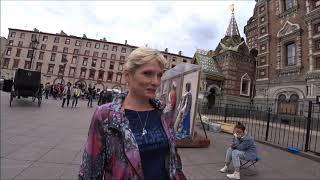 43. На речной карнавал с Олей.  Маски, костюмы, клоуны, фотосессии. Санкт-Петербург.