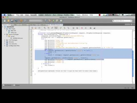 java-ee-6-and-glassfish-3-with-netbeans-6.9-(1-of-5)---jsp-+-servlets-+-ejb