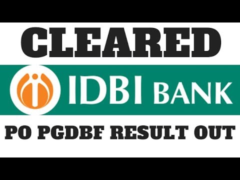 CLEARED IDBI PO PGDBF || NEXT TARGET IBPS CLERK AND SYNDICATE PO PGDBF