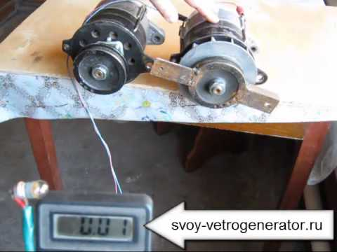 видео: Тестирование 5 -е генераторов для ветрогенератора