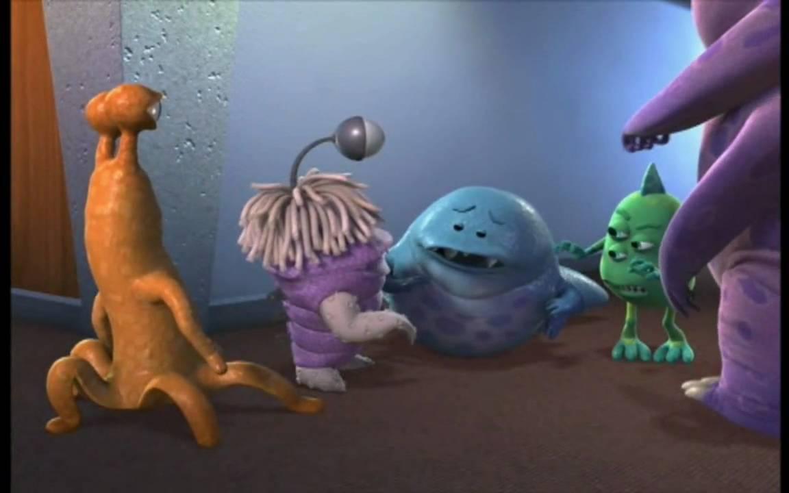 Monsters Inc Boo Saying Mike Wasowski Youtube