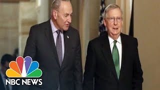 Watch live: McConnell, Schumer address Senate amid impeachment, Iran tensions