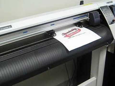 Graphtec Ce5000 60 Vinyl Cutter Contour Cutting With A