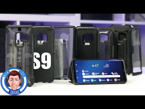 Top Galaxy S9 Cases, Review and Grip Test