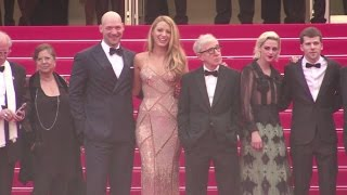 Woody Allen and Cafe Society Cast attend the Opening Ceremony of the Cannes Film Festival 2016