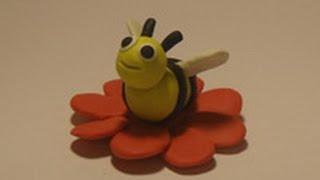Уроки лепки для детей.Урок 21. Пчелка