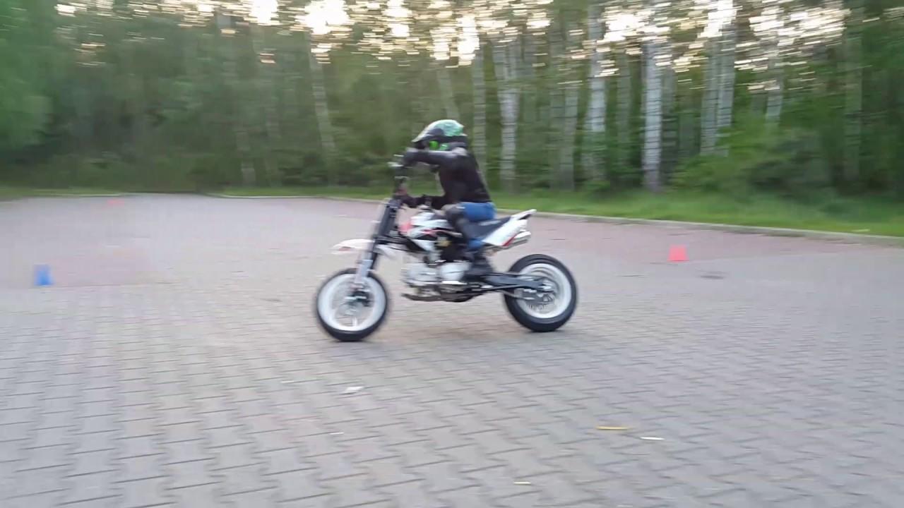 Inne rodzaje Mrf 120 pitbike supermoto - Pit bike MRF 120 - YouTube KH33