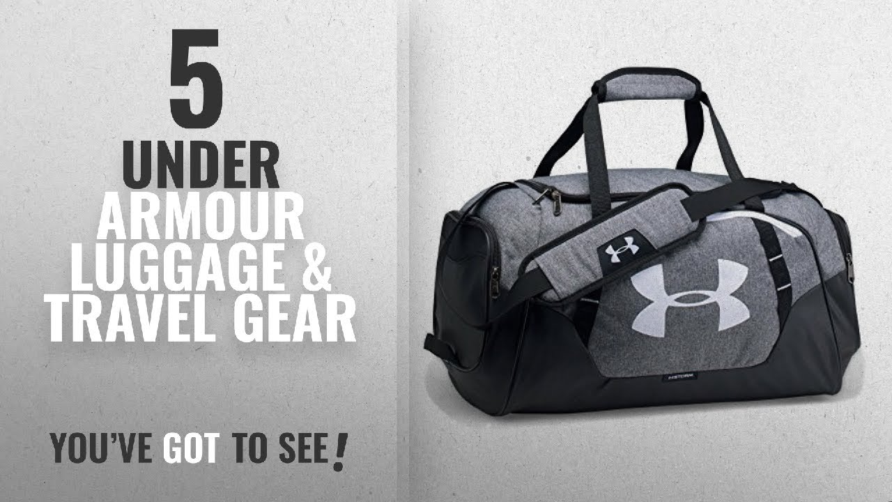 6cca3b9d710 Top 10 Under Armour Luggage   Travel Gear  2018   Under Armour Undeniable  3.0 Small Duffle Bag